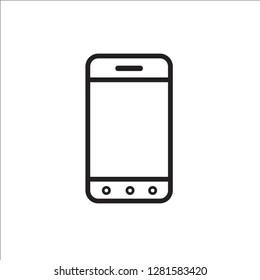 smartphone modern icon vector