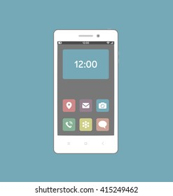 Android Home Screen Stock Vectors Images Vector Art