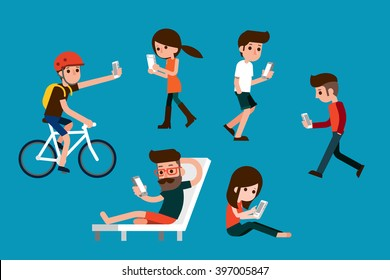 Smartphone society.