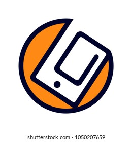 smartphone and tablet logo