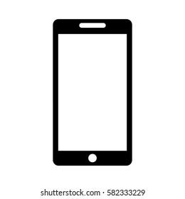 smartphone technology line icon