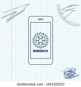 Vectores, imágenes y arte vectorial de stock sobre Smartphone Bar