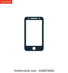 SMARTPHONE VECTOR ICON DESIGN TEMPLATE