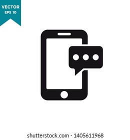 smartphone vector icon, device icon in trendy flat style