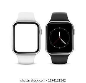 Smartwatch with big blank screen