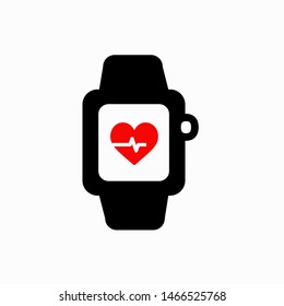 Smartwatch icon,vector illustration. Flat design style. vector smartwatch icon illustration isolated on White background, smartwatch icon Eps10. smartwatch icons graphic design vector symbols.