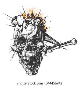 Smashed Skull