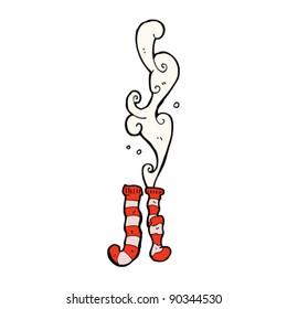smelly old socks cartoon