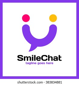 Smile Chat Logo - Happy People