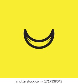Smile Emoticon Logo Vector Template Design Illustration