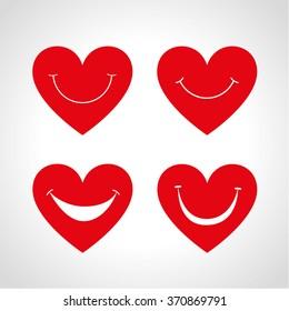 Smile heart.