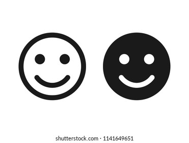 Smile icon. Happy face symbol.Smile icon for your web design.