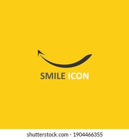 smile icon, smile, logo vector design happy emoticon Business, funny design and vector emoji happiness
