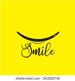Smile icon Logo Vector Template Design - Vector