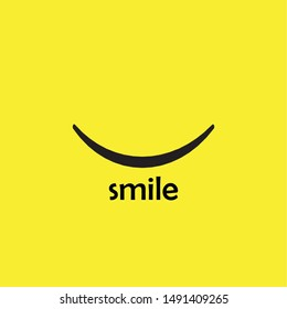 Smile icon Logo Vector Template Design