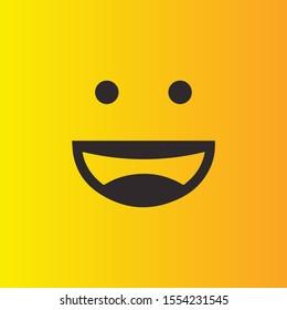Smile icon Logo Vector Template Design. EPS 10