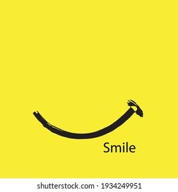Smile icon Logo Vector Template Design