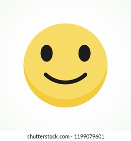 Smile icon, symbol, web, app. Vector illustration. EPS 10