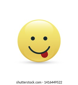 smile icons. emoji. emoticons vector