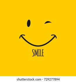 Smile Logo Vector Template Design
