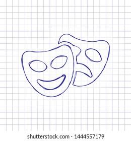 Drama Doodle Images, Stock Photos & Vectors   Shutterstock