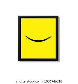 Smile Vector Template Design
