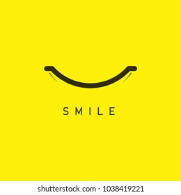 Smile Vector Template Design
