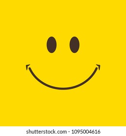 vetor stock de smile icon template design smiling emoticon livre de