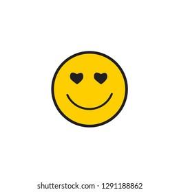 Smile Vector Template Design Illustration