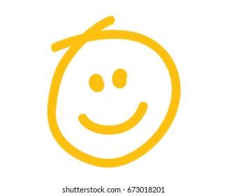 Smiley Face Vector Illustration. Happy Icon