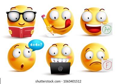Emoji Study Gorseller Stok Fotograflar Ve Vektorler Shutterstock