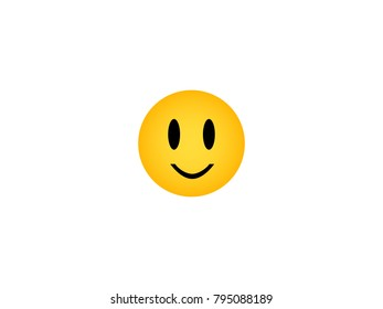 Smiley face,vector illustration.