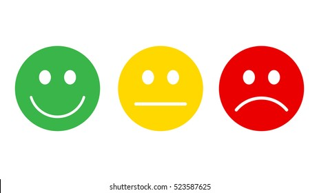 Smiley icon vector