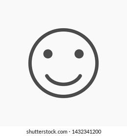 smiley vector icon 10 eps , Lorem ipsum Flat design