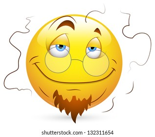 Smiley Vector Illustration - Stinky Face