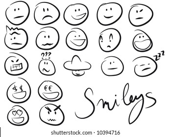 smiley/smilies set
