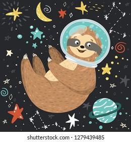 2a4c03431d94a Vectores, imágenes y arte vectorial de stock sobre Astronaut Moon ...