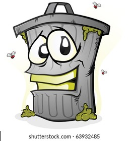 Trash Can Cartoon Images Stock Photos Vectors Shutterstock
