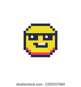 Emoji Pixel Art Stock Illustrations Images Vectors