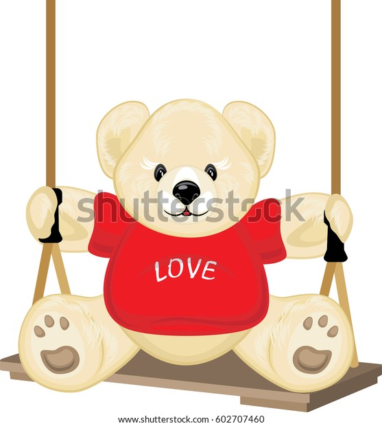 smiling-plush-bear-on-swing-600w-6027074