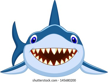 smiling shark images stock photos vectors shutterstock rh shutterstock com Baby Shark Clip Art Shark Outline Clip Art