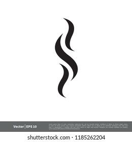 smoke icon logo template
