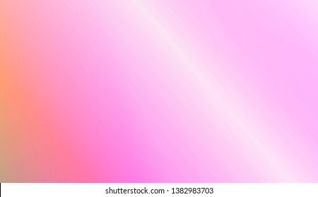 Smooth Abstract Colorful Gradient Backgrounds. For Website Pattern, Banner Or Poster. Vector Illustration
