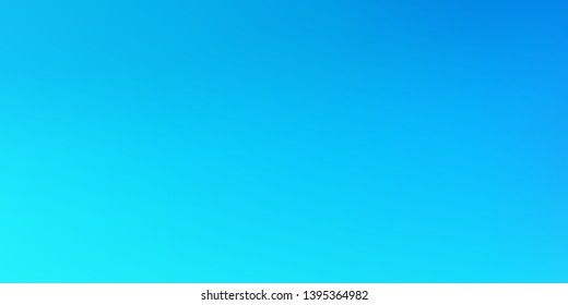 Smooth abstract colorful mesh background. Horizontal layout. Soft blue, flowing ocean  blurred gradient.  Modern blazing backdrop for poster, banner, mobile app screen, invitation.  Vector design