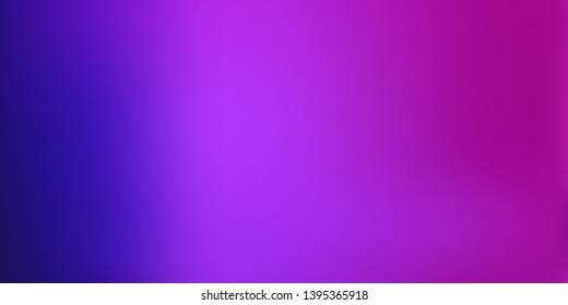 Smooth abstract colorful mesh background. Horizontal layout. Soft fuchsia, magenta blurred  gradient.  Modern blazing backdrop for poster, banner, mobile app screen, invitation.  Vector design