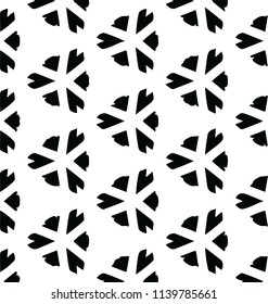 Smooth artistic decorative abstract pattern vector design element for many creative ideas
