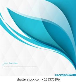 Smooth Curve Lines Background