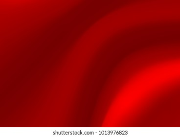 Smooth elegant red silk vector background, luxury cloth texture