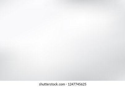 Smooth and soft gradient abstract background vector. Blend gray color design.