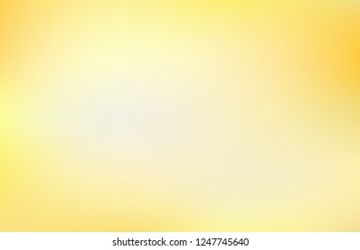 Smooth and soft gradient abstract background vector. Blending yellow color design.